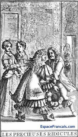 Les Précieuses Ridicules Molière Bilan de lecture: commentaire sous... 2nde Français