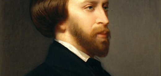 Portrait de Musset par Charles Landelle