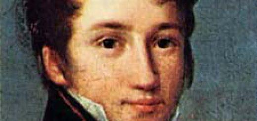 Alfred de Vigny vers l'âge de dix-sept ans en uniforme de sous-lieutenant de la Maison du roi, portrait attribué à François Joseph Kinson, Musée Carnavalet