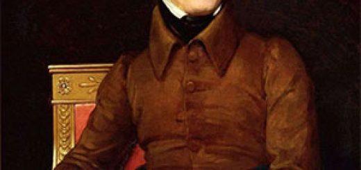 Portrait d'Alphonse de Lamartine, par François Gérard (Baron), 1831.