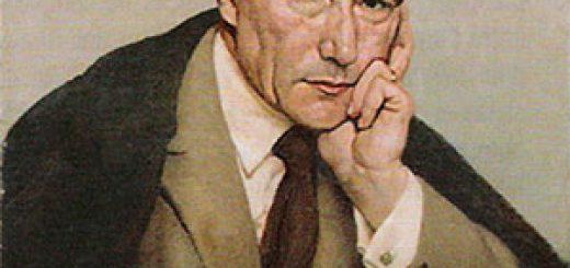 Portrait d'André Gide, par Paul Albert Laurens (1924).