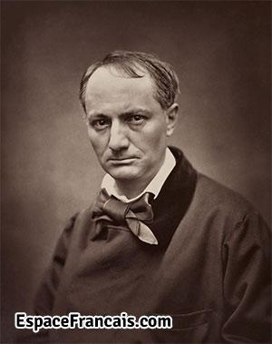 Portrait de Charles Baudelaire par Étienne Carjat, vers 1862.