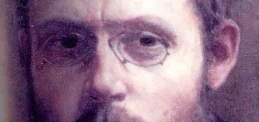 Portrait de Charles Péguy par Jean-Pierre Laurens.