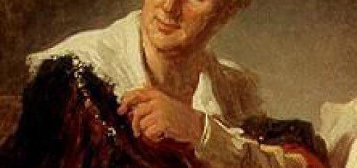 Jean-Honoré Fragonard (1732-1806), Portrait de Denis Diderot, 0,81 x 0,65 m (Paris, Musée du Louvre).