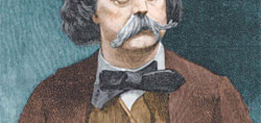 Portrait de Gustave Flaubert.