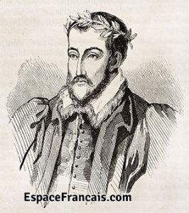 Portrait de Joachim du Bellay, poète français, (1522 – 1560). Gravure de 1854. © Bianchetti / Leemage
