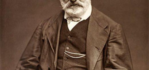 Photoglyptie de Victor Hugo, par Étienne Carjat, 1876.