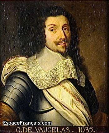 Portrait de Claude Favre de Vaugelas (1635)