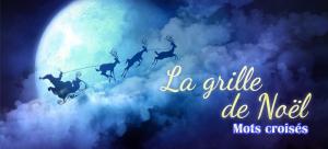 Mots croisés : La grille de Noël