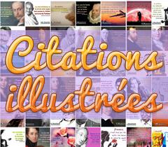 Citations illustrées
