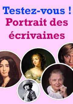 Exercice / QCM : Portrait des écrivaines françaises