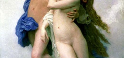 Psychè et L'Amour, par William Bouguereau (1889).
