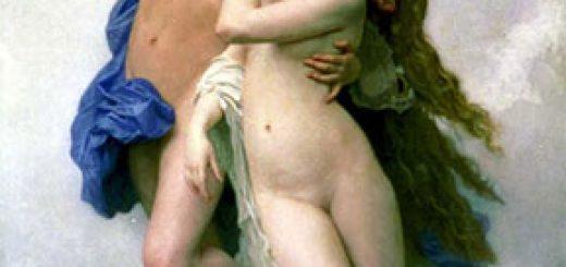Psychè et L'Amour, par William Bouguereau (1889).